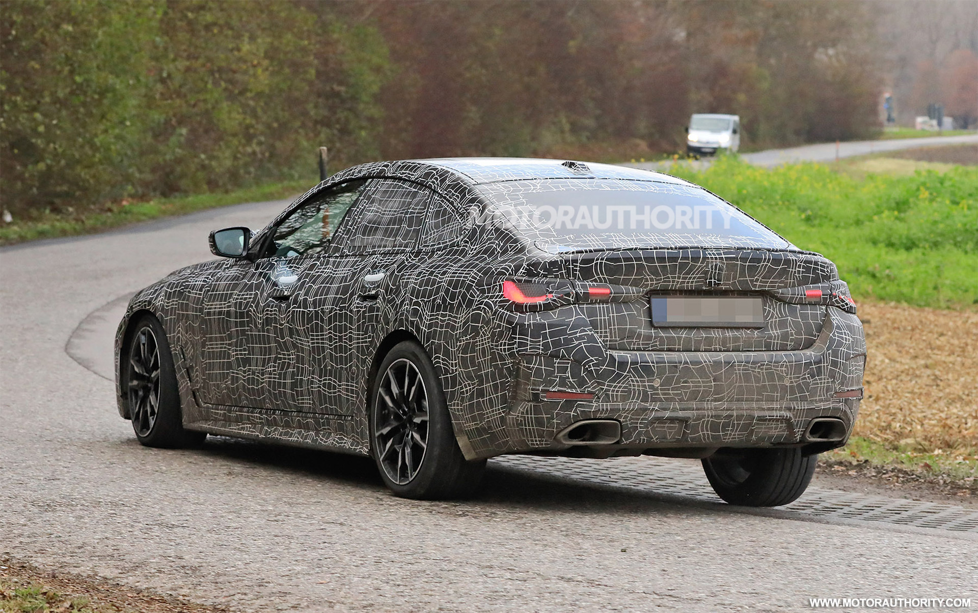 2022 BMW 4-Series Gran Coupe Spy shots: The new car on the final stretch