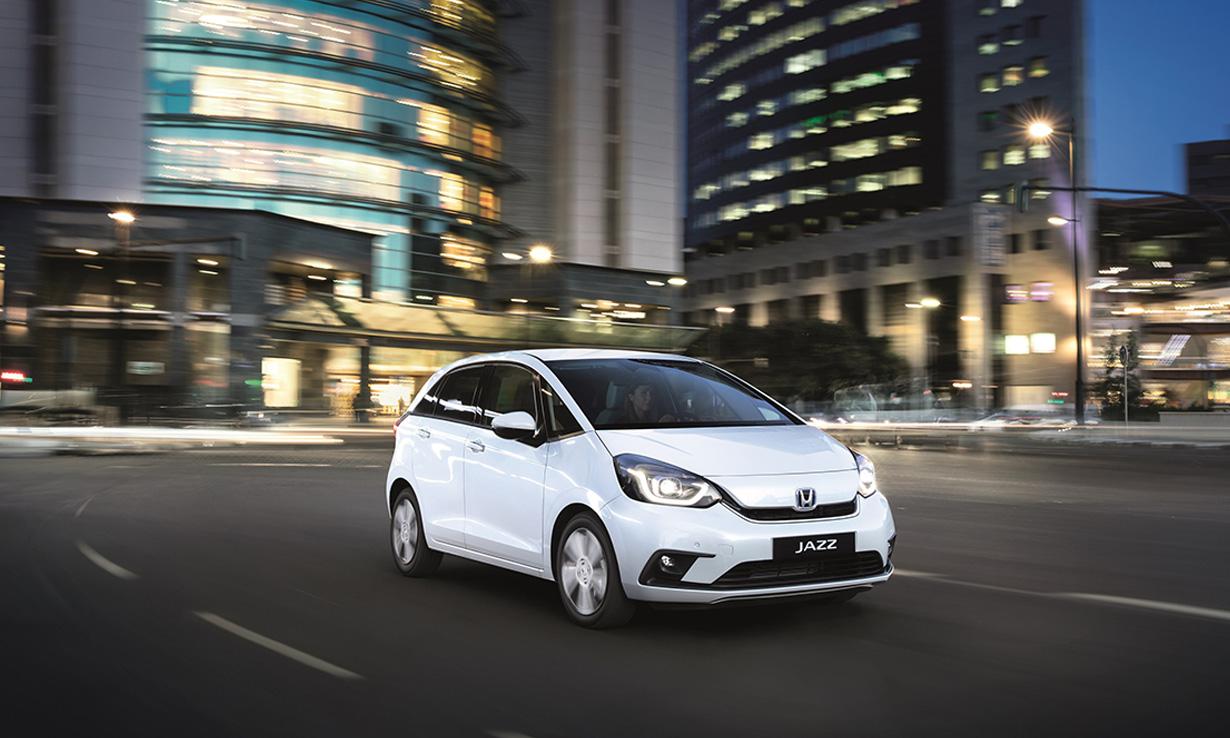 Four most popular cars in UK 2020'- Honda Jazz Hybrid