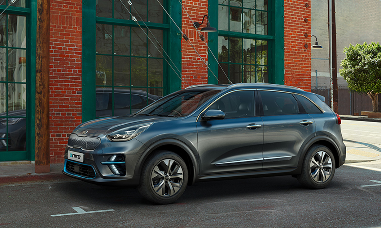Four most popular cars in UK 2020'- Kia E- Niro