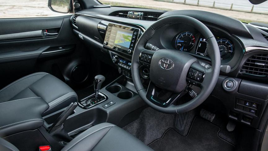 Toyota Hilux Interior   Good Auto Blog