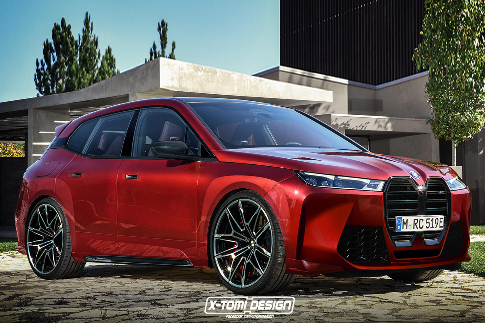 This Is What The BMW iX M Will Look Like