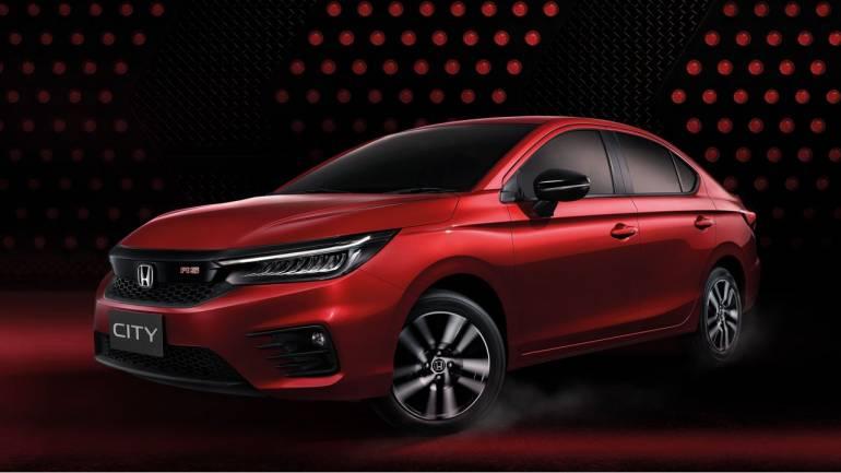 New Honda City 2021 Exterior