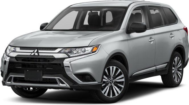 Mitsubishi car exterior