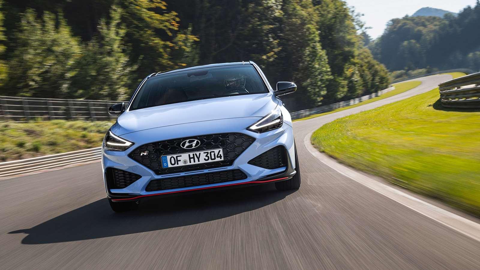 Hyundai i30N, the innovative car looks sharper.