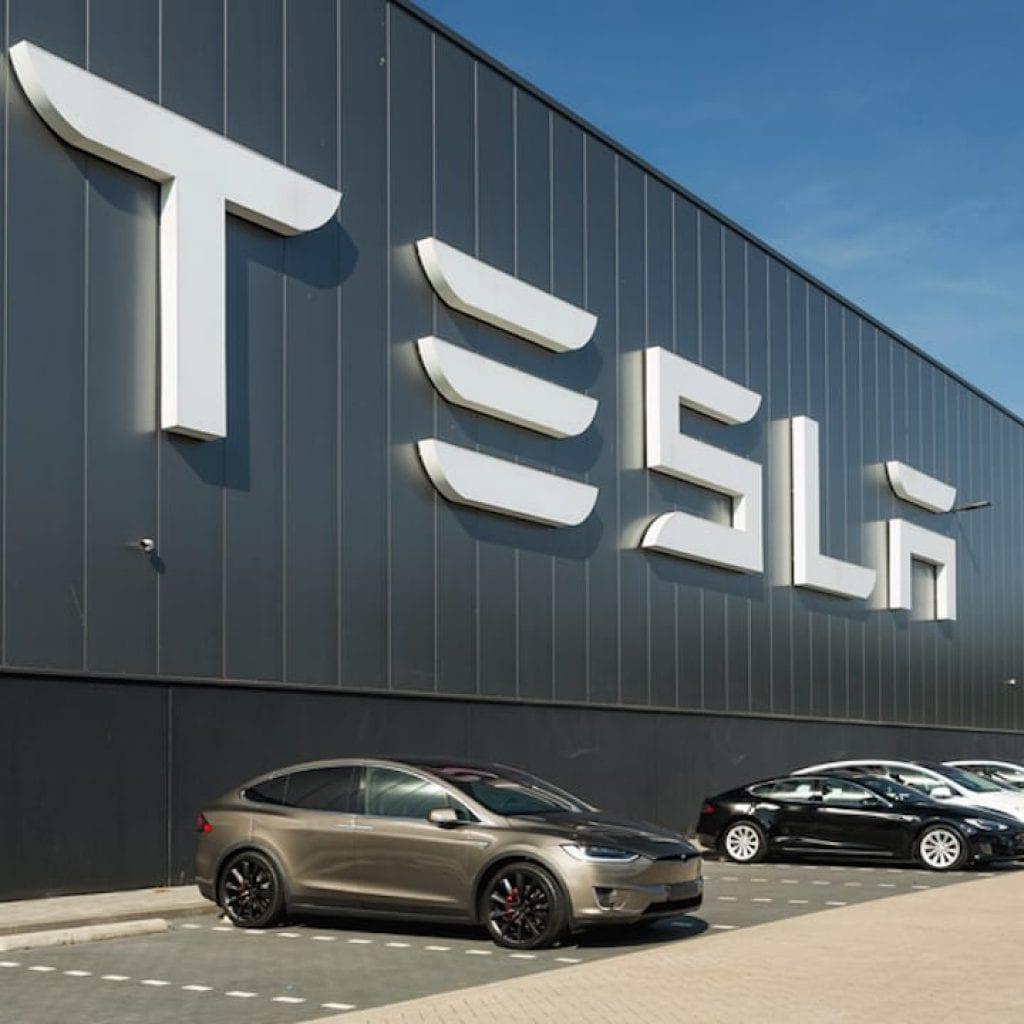 A view of Tesla company