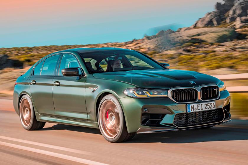BMW M5 CS model