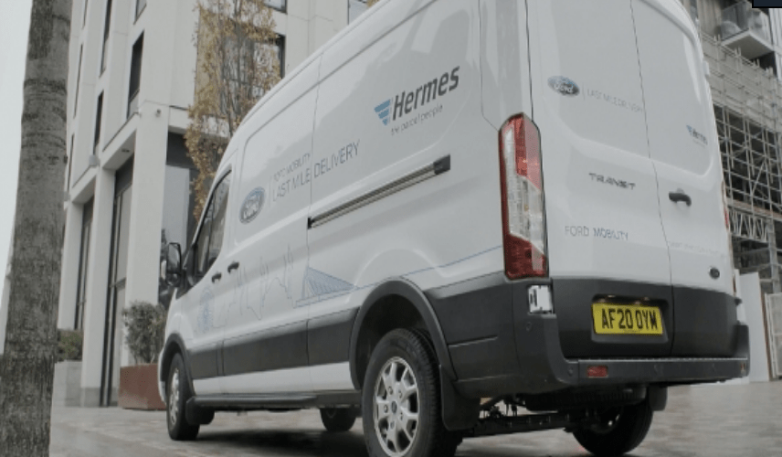 Ford unite with Hermes to sort online shopping