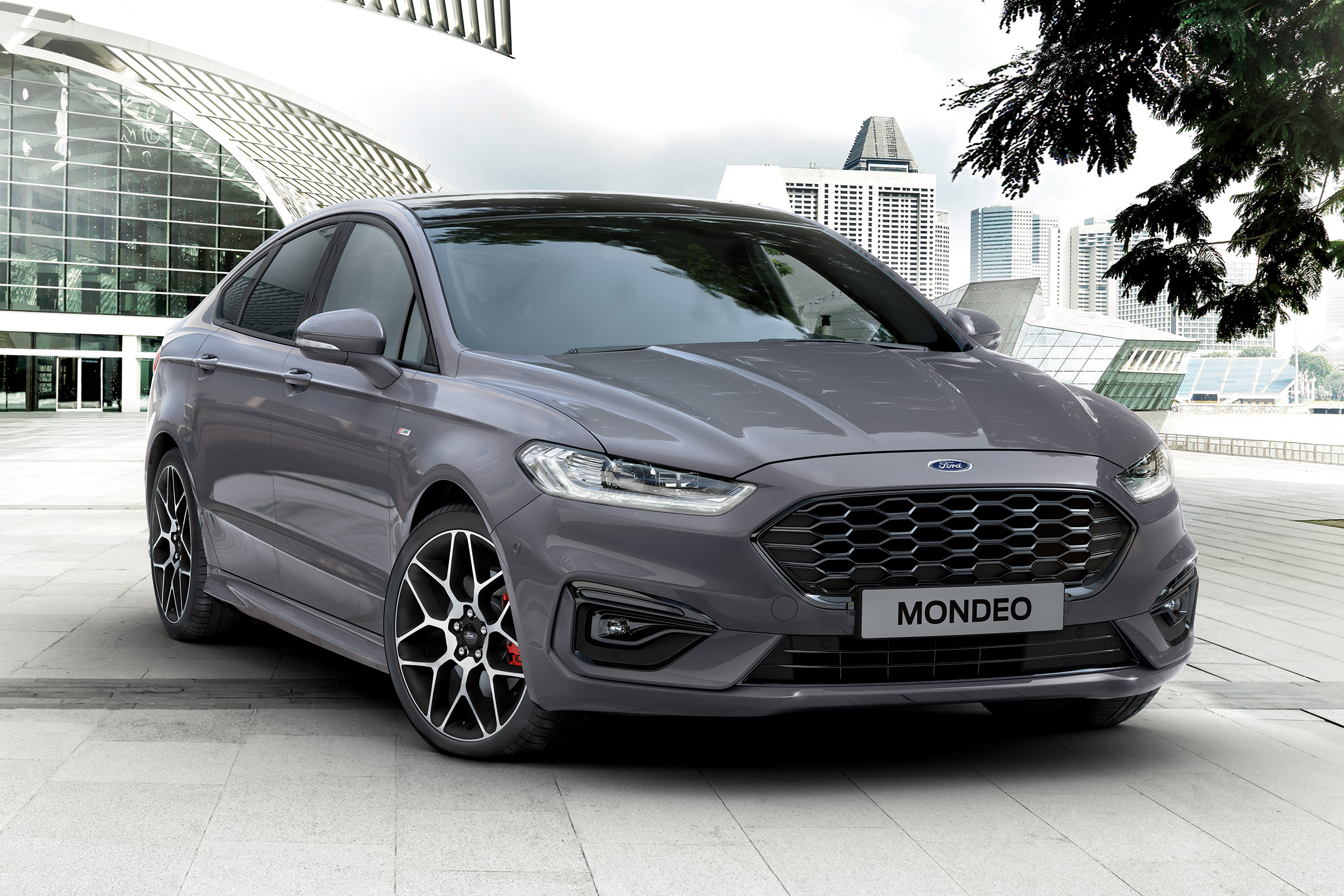 Ford Mondeo with its wonderful look