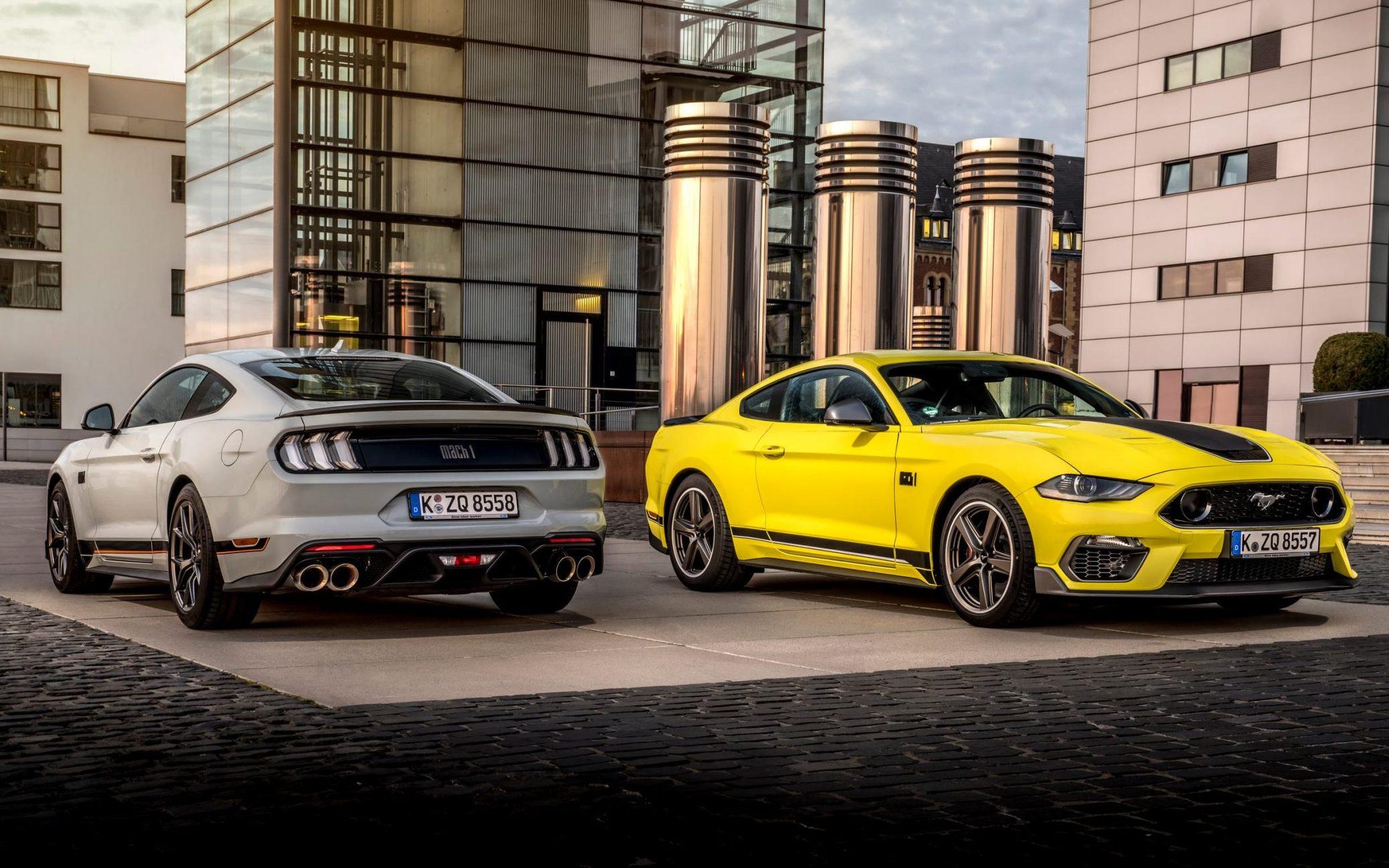 Ford dispose 2.3-liter Mustang