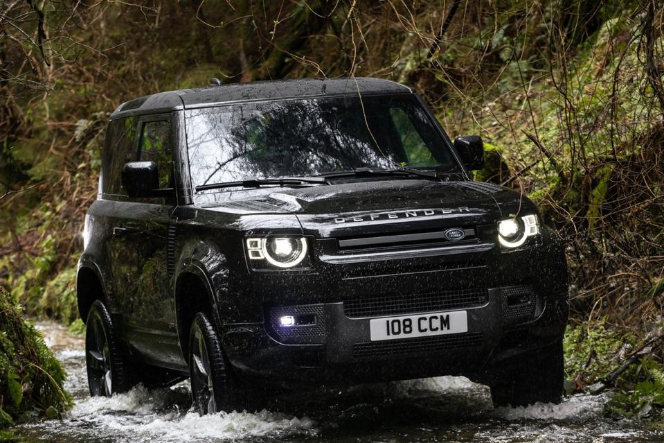 Broadened Land Rover Defender 130