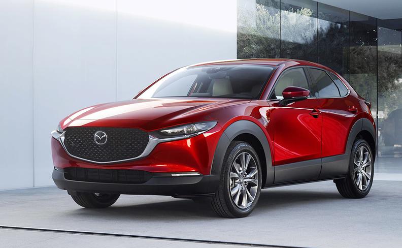 Mazda representing its exterior