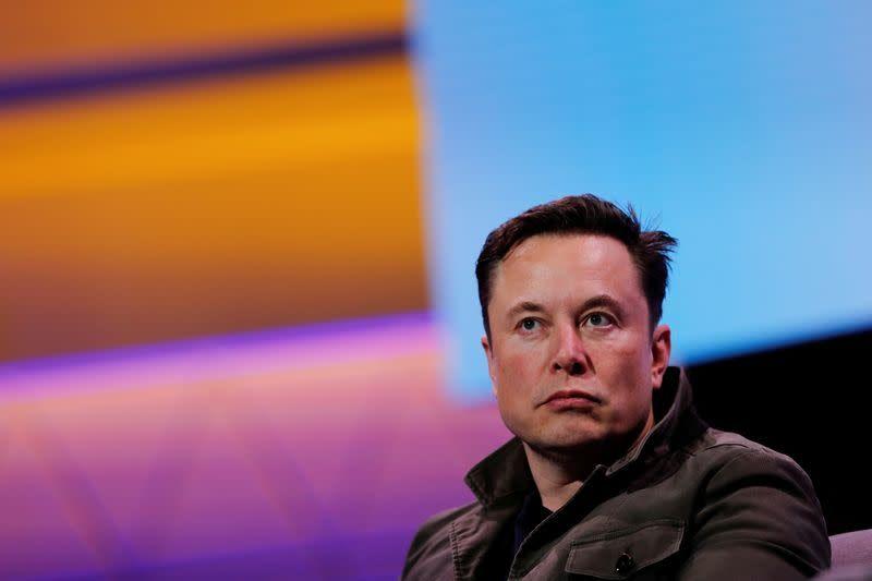 Tesla financial sponsor Musk