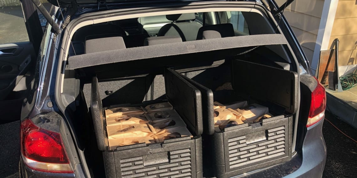transfers 900+ Cookies a week In A Volkswagen Golf