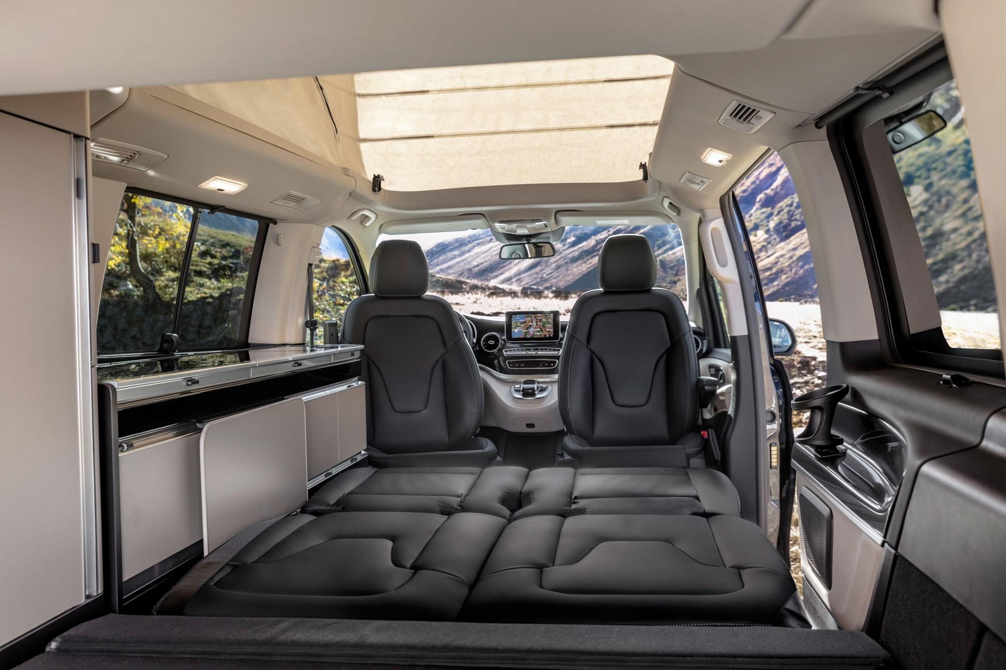 Mercedes V-Class - fashionable interior - GoodAutoDeals