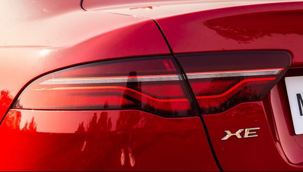 Jaguar back view- GoodAutoDeals