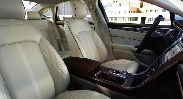 Ford Fusion- Interior