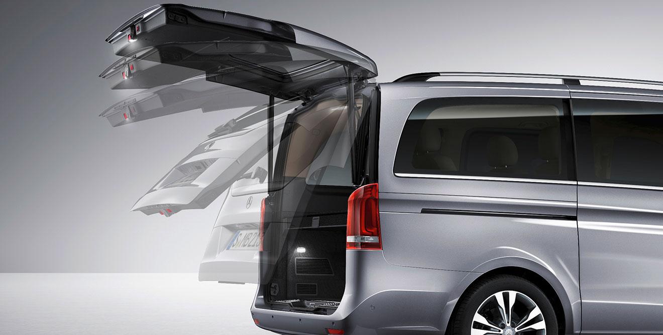 Mercedes V-Class- trunk - GoodAutoDeals