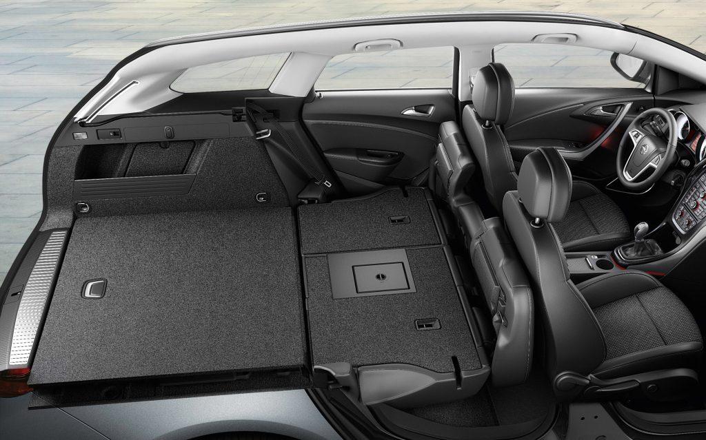 Vauxhall Astra Sports- trunk Space - GoodAutoDeals