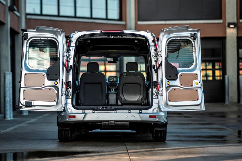 Ford Transit -boot capacity - GoodAutoDeals