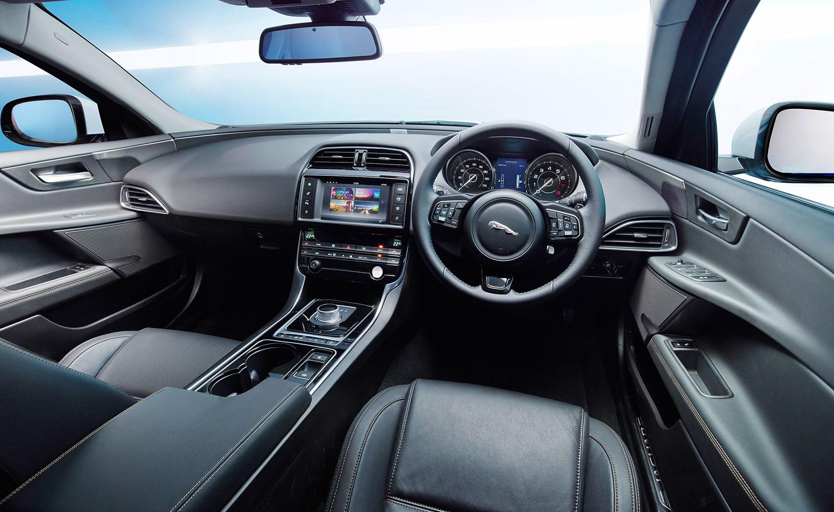 Jaguar XE Compact Sedan- Interior view- GoodAutoDeals