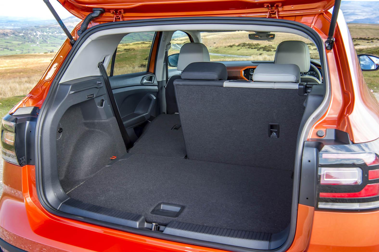 Volkswagen T-cross- trunk Capacity - GoodAutoDeals