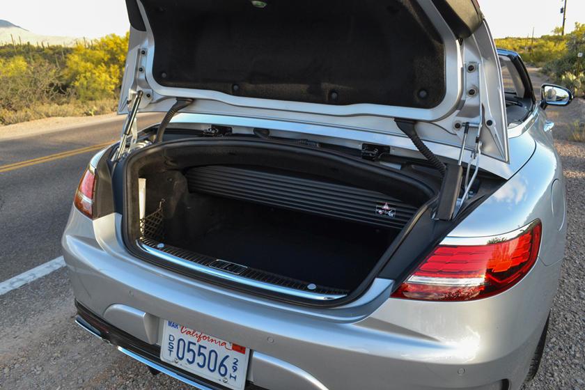 Mercedes S Class Carbriolet- Boot Capacity -GoodAutoDeals '