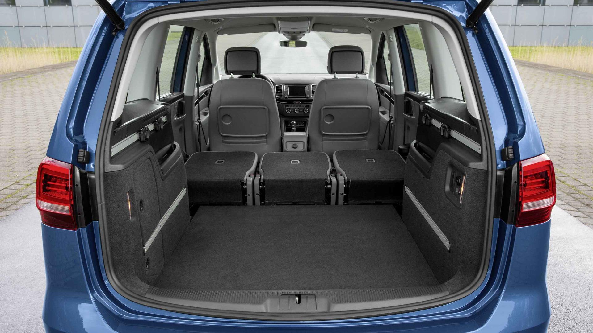 Volkswagen Sharan- Trunk Capacity-  GoodAutoDeals