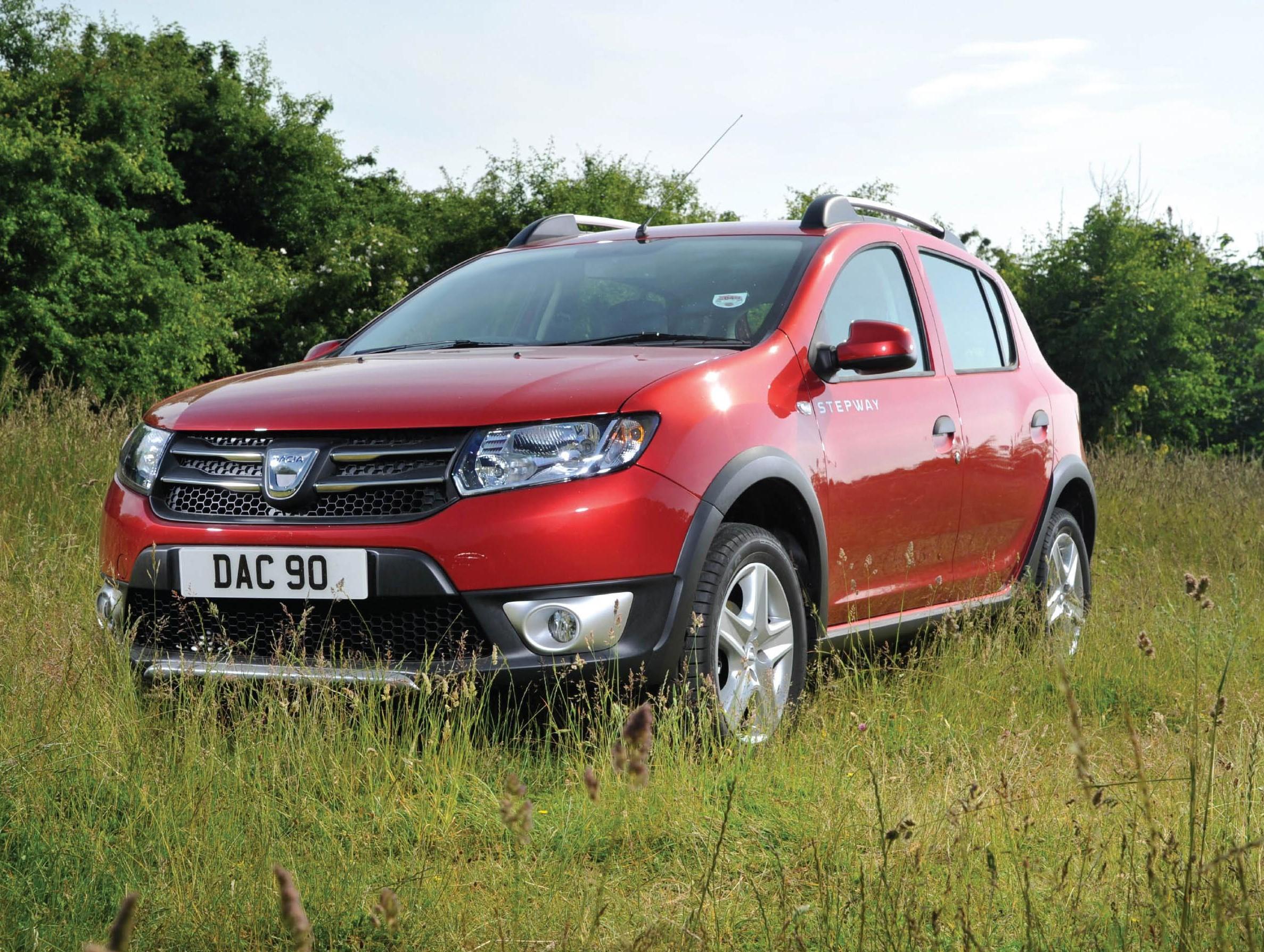 Dacia Sandero Stepway-Driving and Handling