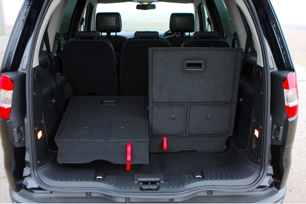 Ford Galaxy- Trunk space-GoodAutoDeals