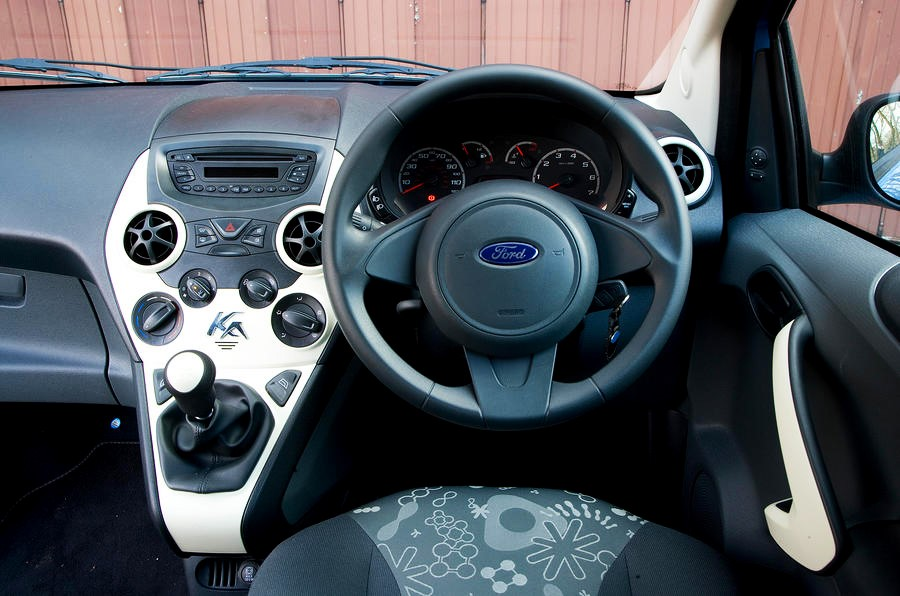 Ford Ka- interior- GoodAutoDeals