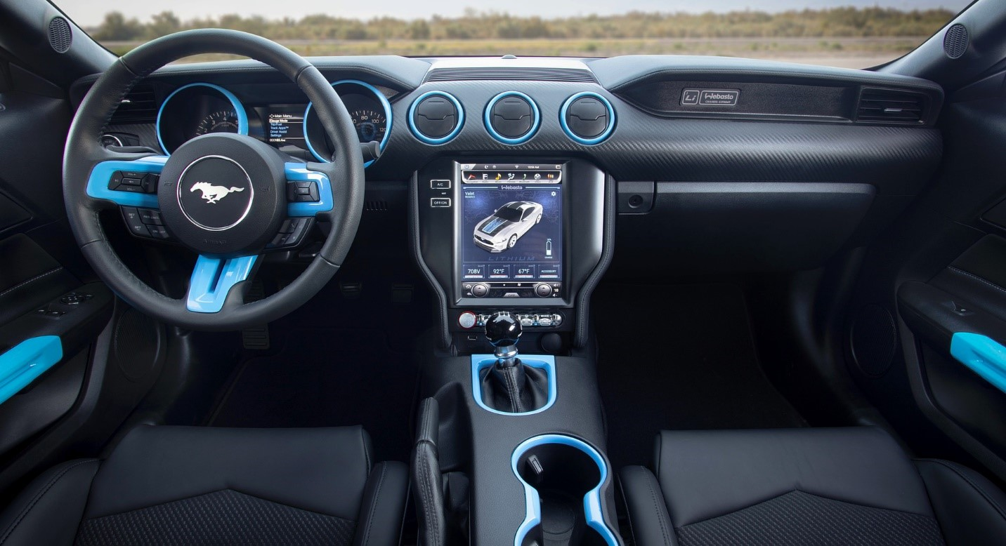 Ford Mustang- Interior-GoodAutoDeals