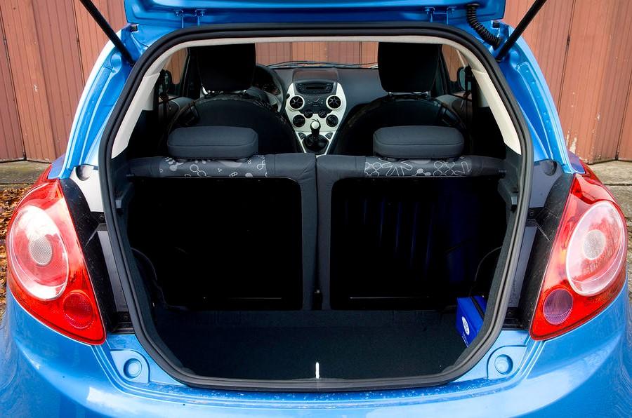 Ford Ka- Boot Capacity- GoodAutoDeals