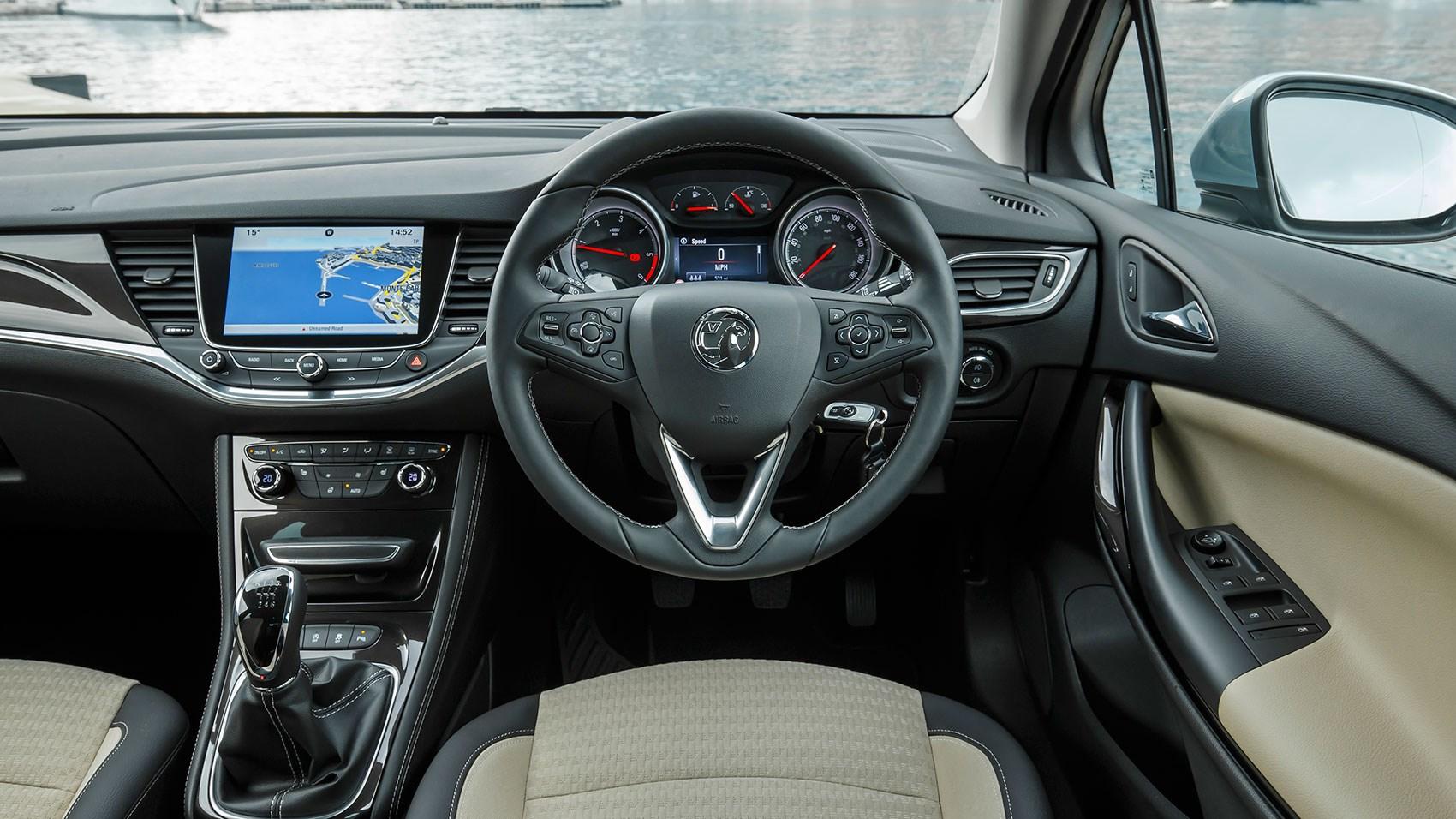 New Astra Sports- Interior